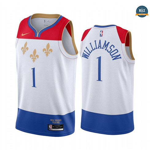 Max Maillots Zion Williamson, New Orleans Pelicans 2020/21 - City Edition