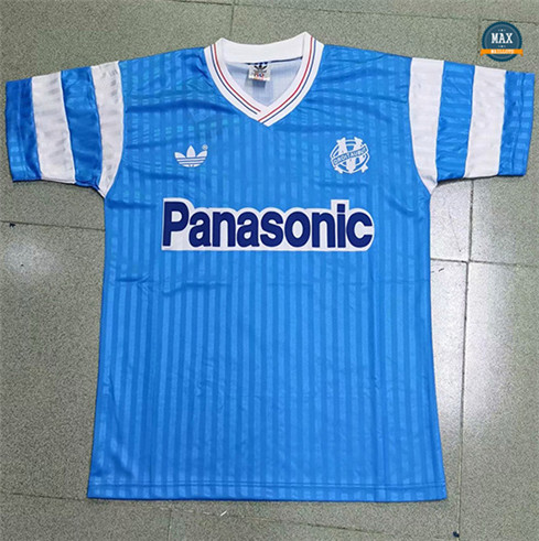 Max Maillots Retro 1990 Marseille Exterieur