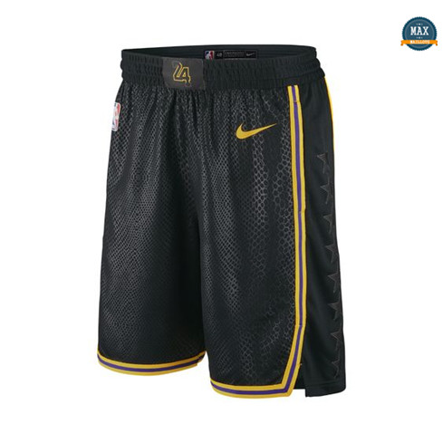 Max Maillot Shorts Los Angeles Lakers 'Noir Mamba'