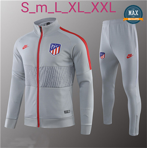 Veste Survetement Atletico Madrid 2019/20 Gris