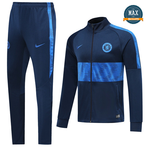 Veste Survetement Chelsea 2019/20 Bleu Marine