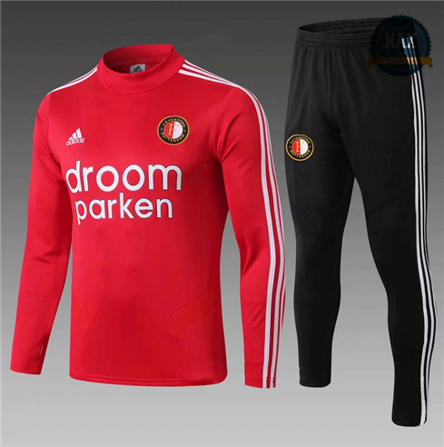 Survetement Enfant Feyenoord Droom Parken 2019/20 Rouge