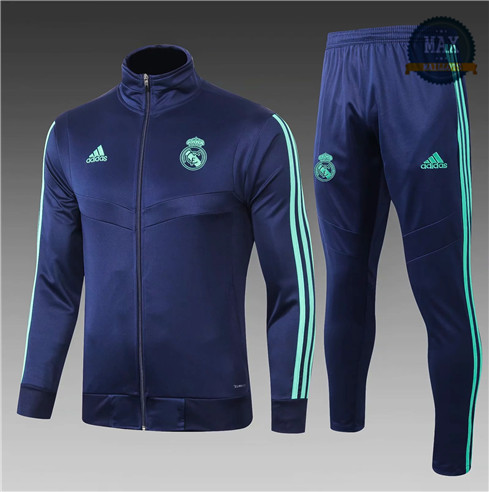Veste Survetement Enfant Real Madrid 2019/20 Bleu Marine