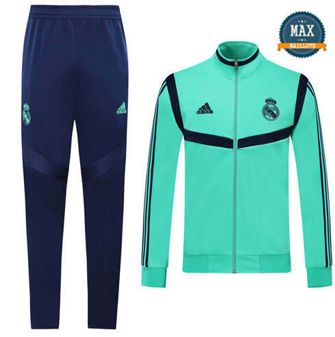 Veste Survetement Enfant Real Madrid 2019/20 Vert