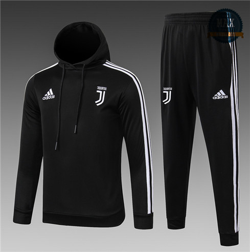 Survetement Enfant Juventus 2019/20Sweat à Capuche Noir