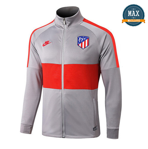 Veste Atletico Madrid 2019/20 Gris/Rouge