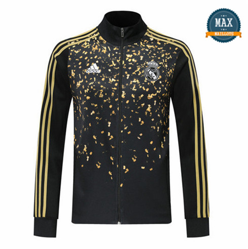 Veste Real Madrid 2019/20 edition star Noir/Jaune