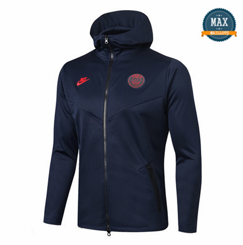 Veste Sweat à Capuche Paris Saint Germain 2019/20 Bleu Marine