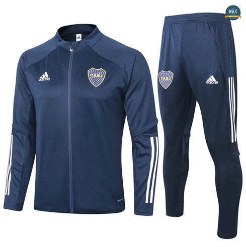 Max Veste Survetement Boca Juniors 2020/21 Bleu Marine