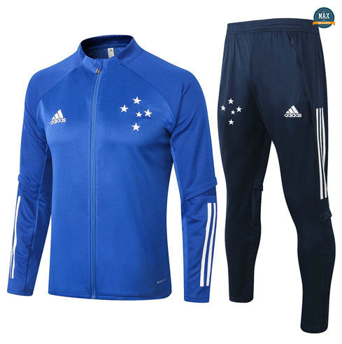 Max Veste Survetement Cruzeiro 2020/21 Bleu