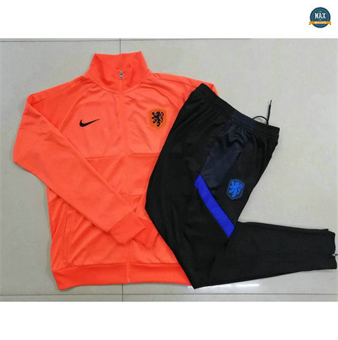 Max Veste Survetement Pays-Bas Enfant 2020/21 Orange