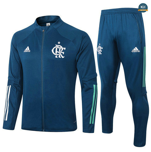 Max Veste Survetement Flamengo 2020/21 Bleu Marine