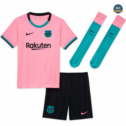 Max maillots Barcelone Enfant 2020/21 Rose