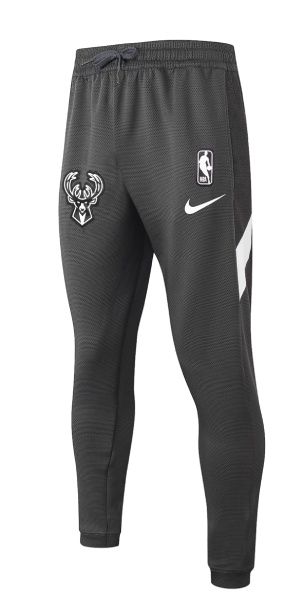 Max maillot Pantalon Thermaflex Milwaukee Bucks - Noir