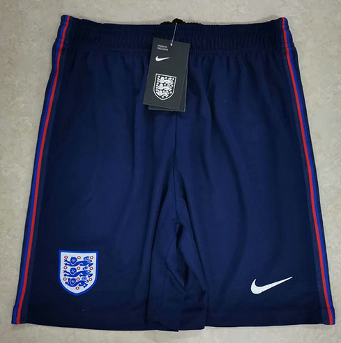 Max maillots Angleterre Short 2020/21 Bleu pas cher