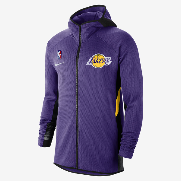 Max maillot Veste à capuche Los Angeles Lakers - Pourpre