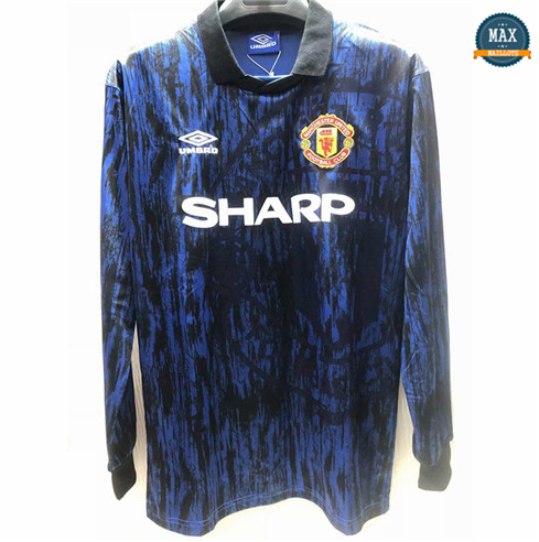 Max Maillots Classic 1993 Manchester United Exterieur Manche Longue