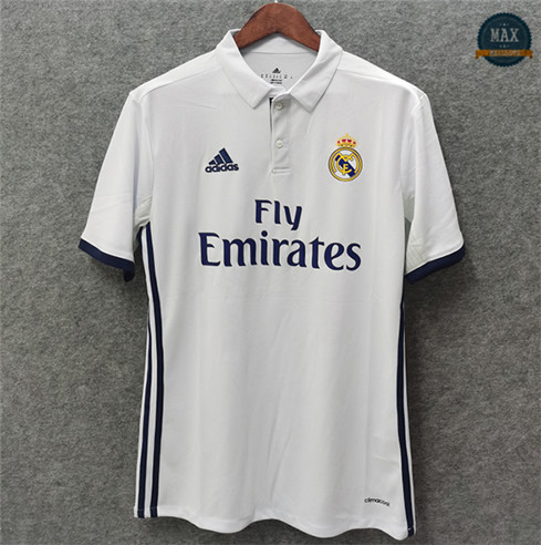 Max Maillot Classic 2016-17 Real Madrid Domicile replica