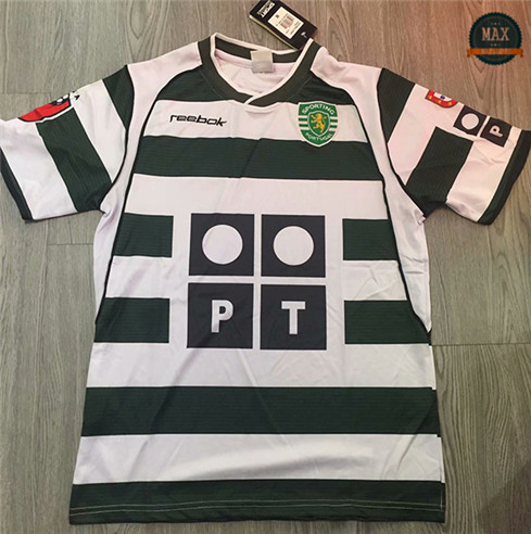 Max Maillots Classic 2001-03 Sporting Lisbon Domicile