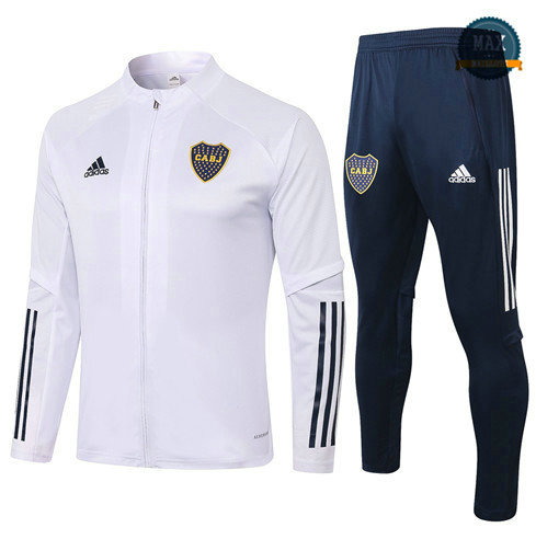 Max Veste Survetement Boca Juniors 2020 Blanc