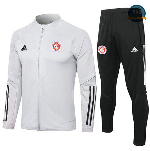 Max Veste Survetement SC Internacional 2020 Gris