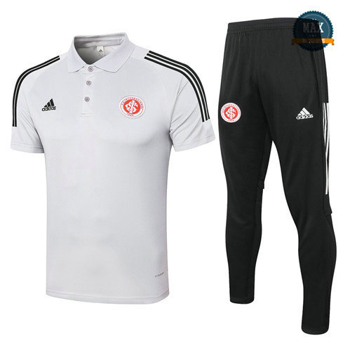 Max SC Internacional Polo + Pantalon 2020 Training Gris Clair