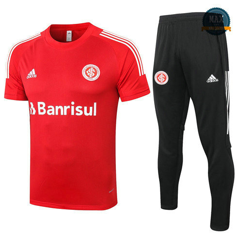 Max SC Internacional + Pantalon 2020 Training Rouge