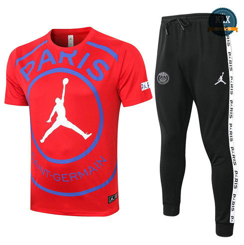 Max PSG Jordan + Pantalon 2020 Training Rouge
