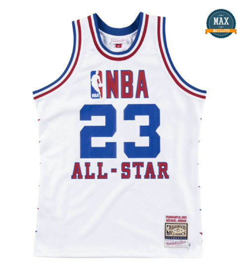 Max Maillots Michael Jordan, All-Star Mitchell & Ness - 1985