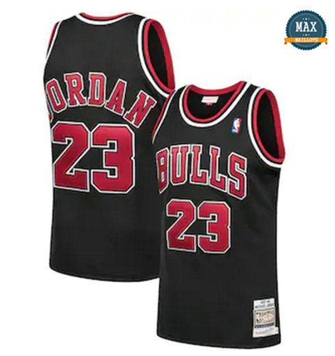 Max Maillots Michael Jordan, Chicago Bulls Mitchell & Ness - Black