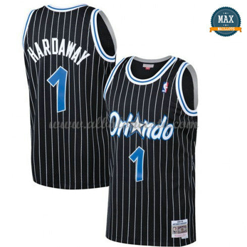 Max Maillot Penny Hardaway, Orlando Magic - Black