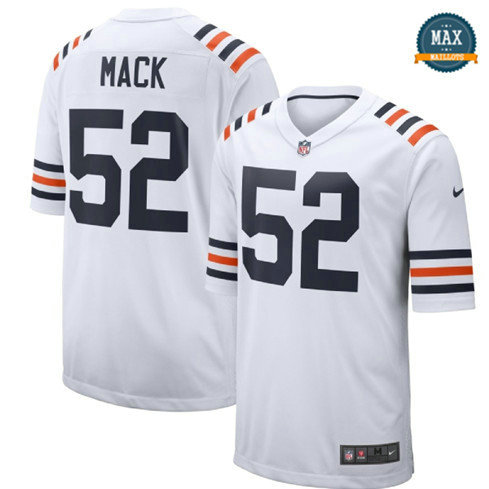 Max Maillot Khalil Mack, Chicago Bears - White