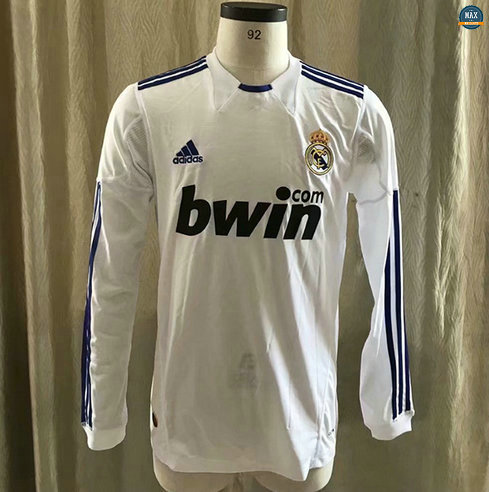 Max Maillot Classique 2010-2011 Real Madrid home Manche Longue