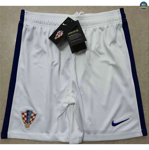 Max Maillot Croatie Shorts 2020/21 Blanc