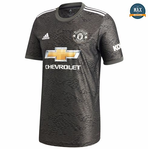 Max Maillot Manchester United Exterieur 2020/21 fiable