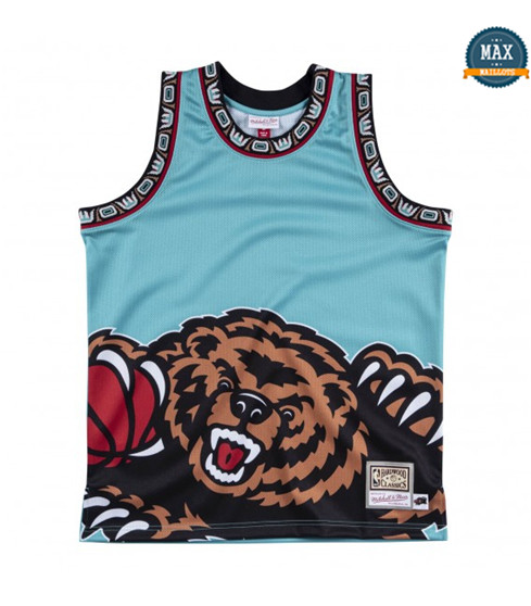 Max Maillots Memphis Grizzlies - Mitchell & Ness 'Big Face' pas cher