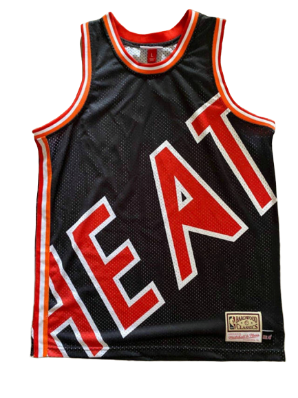 Max Maillot Miami Heat - Mitchell & Ness 'Big Face' fiable