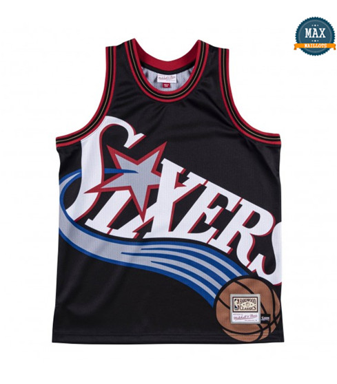 Max Maillots Philadelphia 76ers - Mitchell & Ness 'Big Face'