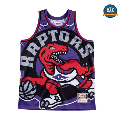 Max Maillots Toronto Raptors - Mitchell & Ness 'Big Face' fiable