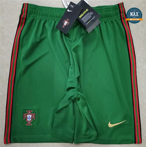 Max Maillot Portugal Short Vert 2020/21 fiable
