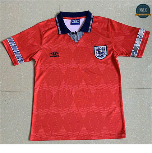 Max Maillots Rétro 1990 Angleterre Exterieur