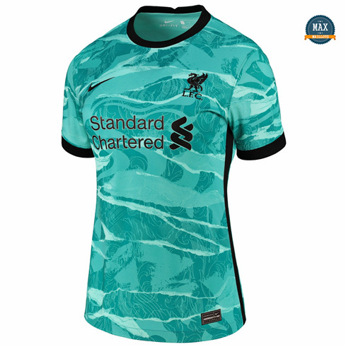 Max Maillots Liverpool Femme Vert 2020/21