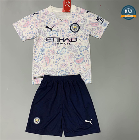 Max Maillots Manchester City Enfant Third 2020/21