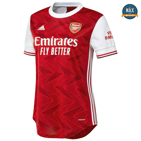 Max Maillot Arsenal Femme Domicile 2020/21