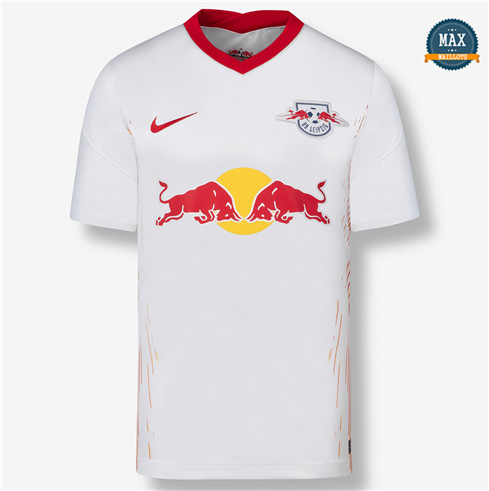 Max Maillot RB Leipzig Domicile Blanc 2020/21