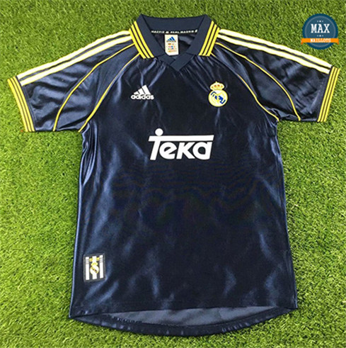 Max Maillots Rétro 1998-00 Real Madrid Exterieur