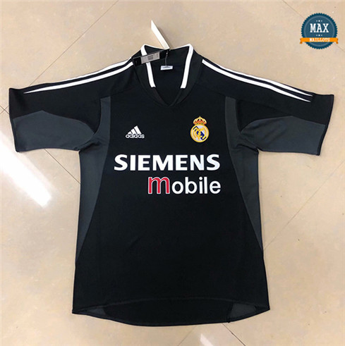 Max Maillot Classic 2004-05 Real Madrid Noir