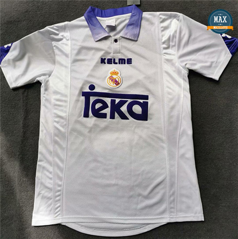 Max Maillots Rétro 1997-98 Real Madrid Domicile