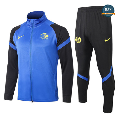 Max Veste Survetement Inter Milan 2020/21 Bleu Marine