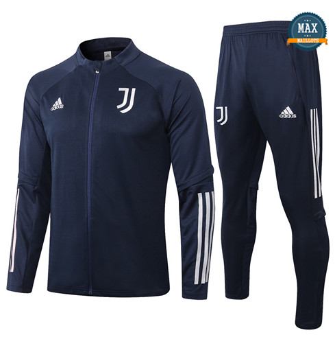 Max Veste Survetement Juventus 2020/21 Bleu Marine